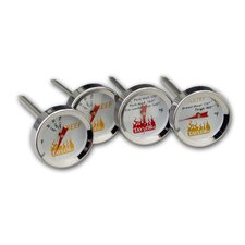 Weekend Warrior Meat Grilling Thermometer (Set of 4)