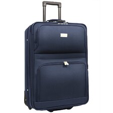 "<strong>Traveler's Choice</strong> Voyager 21"" Expandable Wheeled Upright in Navy"