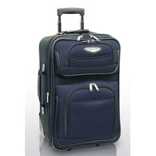 "Amsterdam 21"" Expandable Rolling Carry On"