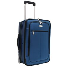 Siena Hybrid Hardshell Rolling Garment Bag / Upright in Navy