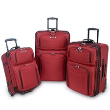 El Dorado 3 Piece Rolling Luggage Set