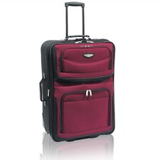 "Amsterdam 25"" Two-Tone Expandable Rolling Suitcase"