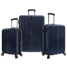 <strong>Traveler's Choice</strong> Tasmania 3 Piece Expandable Spinner Luggage Set