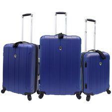 <strong>Traveler's Choice</strong> Cambridge 3 Piece Hard-shell Spinner Luggage Set
