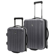New Luxembourg 2 Piece Hardsided Spinner Carry-On Luggage Set