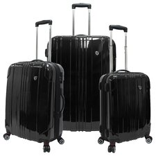 <strong>Traveler's Choice</strong> Sedona 3 Piece Hardsided Expandable Luggage Set