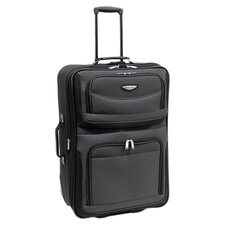 "<strong>Traveler's Choice</strong> Amsterdam 25"" Two-Tone Expandable Rolling Suitcase"