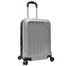 "Glacier 21"" Hardshell Expandable Carry-On Spinner Luggage"