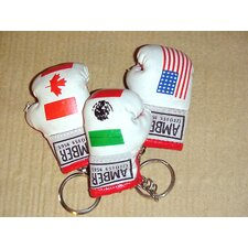 Mini Boxing Keyring Flag