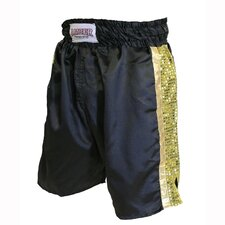 Mexican Style Boxing Shorts in Black
