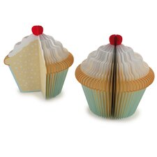 Memo Pad Cupcake (Set of 2)