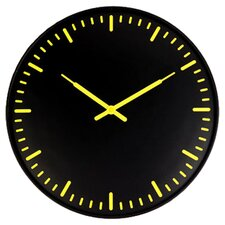 "15"" Ultra Flat Swiss Station Wall Clock"