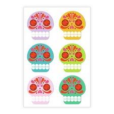 Sugar Skulls Vinyl Magnets