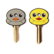 <strong>Kikkerland</strong> Accessories Keycap Duck (Set of 2)