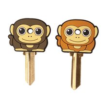 <strong>Kikkerland</strong> Accessories Keycap Monkey (Set of 2)