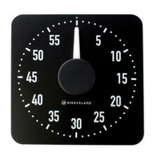 <strong>Kikkerland</strong> Kitchen Timer in Black