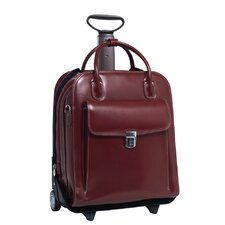 W Series La Grange Leather Laptop Briefcase