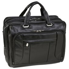 S Series River West Leather Laptop Briefcase