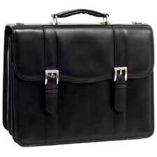 V Series Flournoy Leather Laptop Briefcase