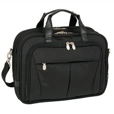 R Series Pearson Nylon Expandable Briefcase in Black