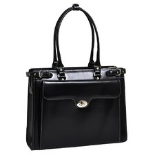 W Series Winnetka Leather Laptop Briefcase