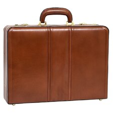 V Series Coughlin Laptop Leather Attaché Case