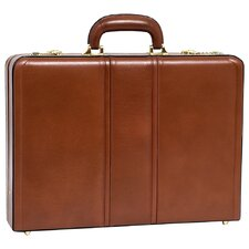 V Series Daley Leather Attaché Case