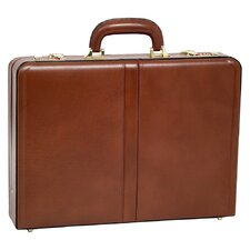 V Series Reagan Leather Attaché Case