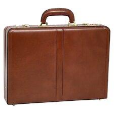V Series Reagan Leather Attache Case