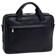 S Series Bronzeville Leather Laptop Briefcase