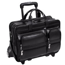 <strong>McKlein USA</strong> P Series Clinton Leather Laptop Catalog Case