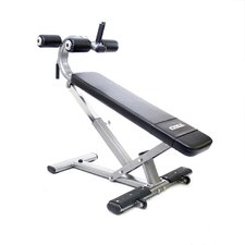 Commercial Crunch Adjustable Ab Bench