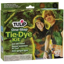 One Step Dyes Camouflage Tie Kit