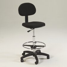 <strong>Martin Universal Design</strong> Height Adjustable Drafting Chair with Footring