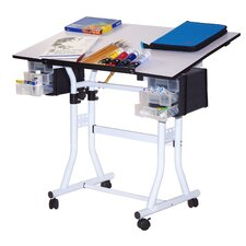 <strong>Martin Universal Design</strong> Weber Creation Station Melamine Deluxe Drafting Table