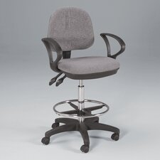 <strong>Martin Universal Design</strong> Height Adjustable Drafting Seating with Footring
