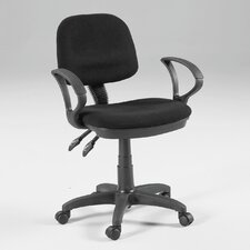 <strong>Martin Universal Design</strong> Vesuvio Mid-Back Office Chair with Arms
