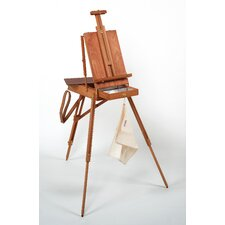 <strong>Martin Universal Design</strong> Jullian of Paris Full Size Wooden French Sketch Box Easel in Mahogany