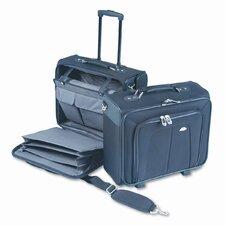 Side Loader Mobile Office Notebook Carr Laptop Briefcase (Set of 2)