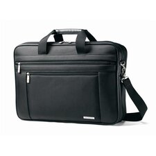 "Classic Business Cases 17"" Two Gusset Briefcase"