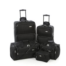 5 Piece Nested Luggage Set
