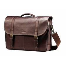 Business Colombian Leather Laptop Briefcase