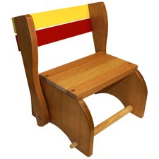 Solid Seat Kid's Stool Chair