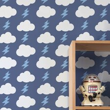 Rainbolts Wallpaper (Set of 2)