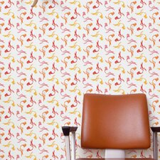<strong>Aimee Wilder Designs</strong> Pigeon Wallpaper Sample