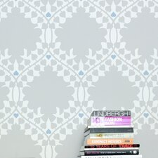 <strong>Aimee Wilder Designs</strong> Leaf Damask Wallpaper