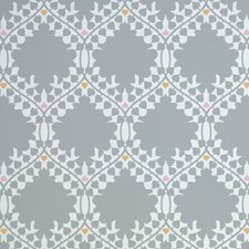 Leaf Damask Wallpaper
