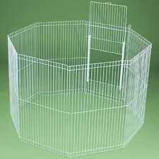 Clean Living 8-Panel Small Animal Playpen
