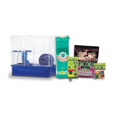 Home Sweet Home Hamster Cage Starter Kit with F.M. Brown's Food