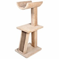 "40.25"" Kitty Cradle Cat Tree"